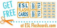 Free ESL Flashcards