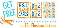 Free ESL Flashcards