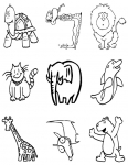 Flashcard Set - Animals