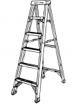 a step ladder
